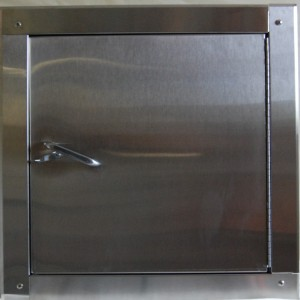 Wilkinson Signature Series Replacement Side Hinged Chute Intake Door