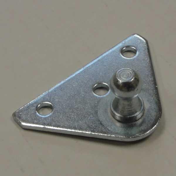 10mm ball stud bracket mount for gas spiring closer